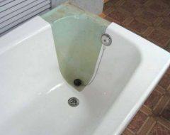 Восстановить эмаль ванной в домашних условиях